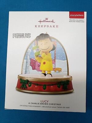 2018 Hallmark Keepsake Ornament LUCY Storytellers A Charlie Brown Christmas NIB