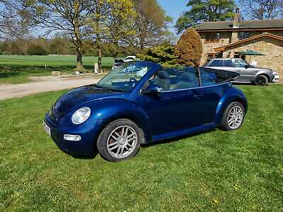 2003 Volkswagen Beetle 2.0 Cabriolet 2dr Petrol Automatic (223 g/km, 115 bhp)