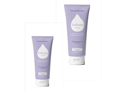 2 x Kokoso Baby Gentle Baby Wash For Delicate Skin & Hair -  2 x 200ml free post