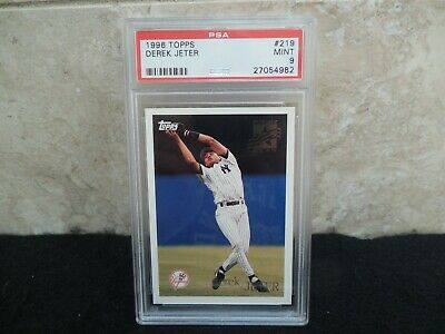 1996 Topps Future Star 219 Derek Jeter Rookie Card Yankees