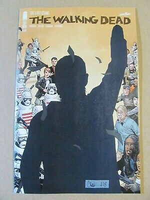 Walking Dead #191 2Nd Print Death Of Rick Grimes! Nmt 1St Print 2019 Image