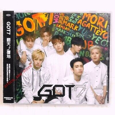 GOT7 MORIAGATTEYO ALBUM CD (Standard Edition) (Japan Version) w/High