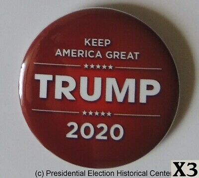 Donald Trump 3 Campaign Button Pack for $5 Special - Button 3014