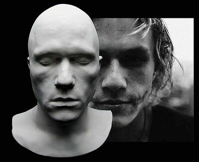 I Am Heath Ledger Life Mask Lifecast Bust Dark Knight Joker Hot Toys
