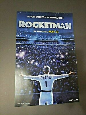 Rocketman (2019) 11 X 17 Original Theactrical Poster Elton John  *NOT A REPRINT*