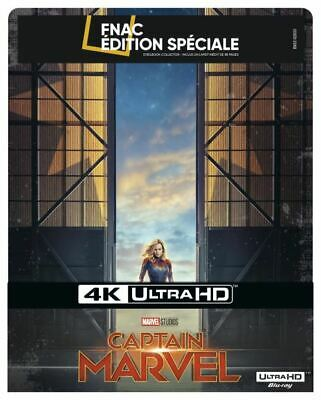 Captain Marvel Steelbook Edition Spéciale Fnac Blu-ray 4K Ultra HD NEUF COMPLET