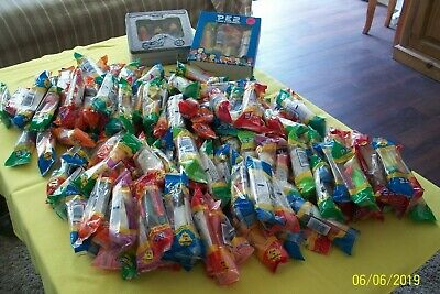 Giant Lot 175+ vintage PEZ Dispensers from 1990's - 2005 Retired