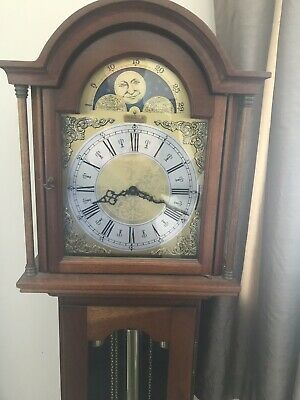Model VIII GRANDMOTHER CLOCK (Mahogany) Richard Broad Clock