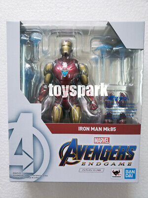 IN STOCK BANDAI S.H.Figuarts Marvel Avengers End Game IRONMAN MK Mark 85 figure