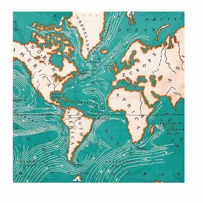 BEAUTIFUL BRIGHT OLD STYLE World Map Printed Wall Hanging Tapestry BLANKET