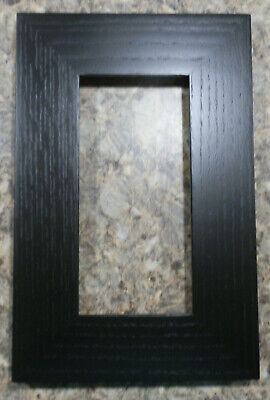 EBONY Arts & Crafts , Mission  Oak Tile Frame for 4x8 Motawi Tile