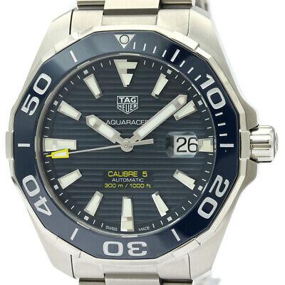 NEW NEU TAG Heuer Aquaracer 300M Calibre 5 Automatic ref