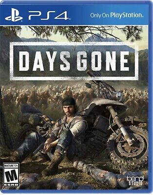 Days Gone Ps4 Game Disc
