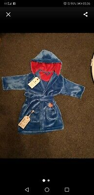 Baby boy dressing gown 9-12 Month