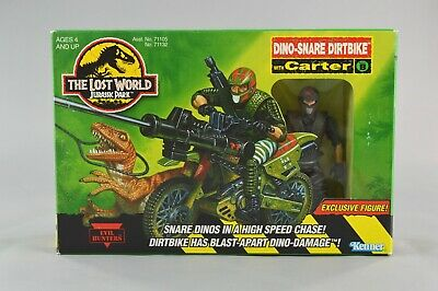 Jurassic Park Lost World Dino-Snare Dirtbike with Exclusive Carter Kenner NEW
