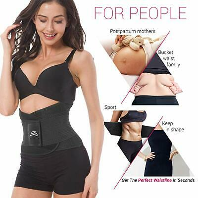 US Xtreme Power Belt New Slimming Fajas Sport Body Shapers Waist Trainer Trimmer