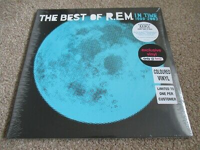 Rem The Best Of Rem Blue Vinyl Hmv Exclusive Limited Edition Double Lp