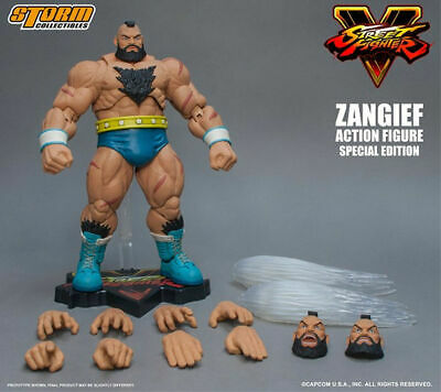 Figurine Figure Storm Collectibles Street Fighter Zangief Special Edition Sealed