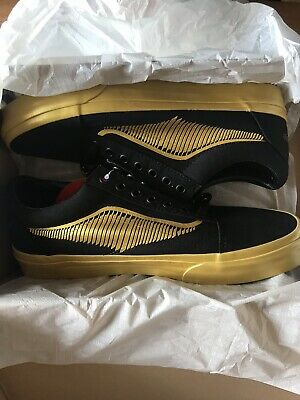 Sneakers Vans Old Skool Harry Potter Golden Snitch Us 8.5 Eur 41 Uk 7.5 Sealed