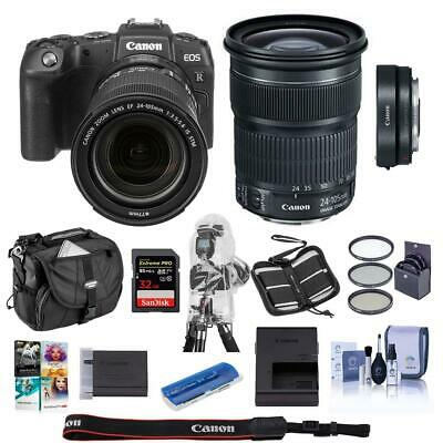 Canon EOS RP Mirrorless Camera,EF 24-105mm f/3.5-5.6 STM Lens  Adapter EF-EOS R