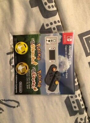 accessoire nintendo switch pokemon let's go evoli pikachu