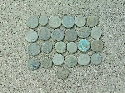 25 pieces to be cleaned Roman coins LOT!
