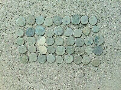 45 pieces to be cleaned Roman coins LOT! 1