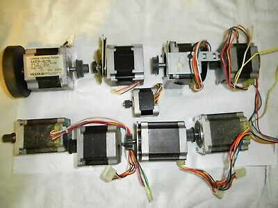 Job lot 9 stepper motors used