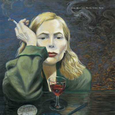Joni Mitchell Both Sides Now Album Cover Stretched Canvas Wall Art