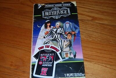 Funky Home Beetlejuice Limited Edition Tee Shirt Brand New Sealed