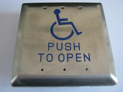 Disabled Push To Open Pad
