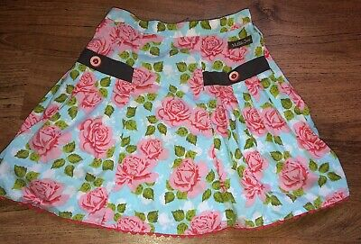 Girls Matilda Jane Floral Print Skirt Size Youth 4 Super Cute!