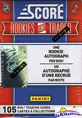 (5) 2010/11 Score NHL Rookie+Traded Box-330 RC+25 Parallel+5 AUTO
