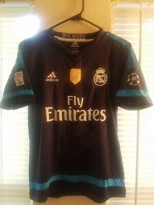 best cheap b814a a7bfb CRISTIANO RONALDO AUTHENTIC Real Madrid Game Jersey Size ...