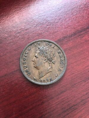 George Iv Penny 1826  Great Britain