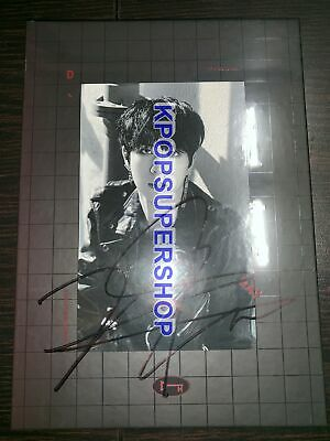 Kim Dong Han of JBJ D-Day Autographed Signed Promo CD Photobook New Sealed