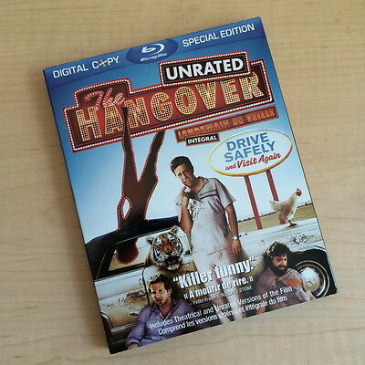 The Hangover [Blu-ray Disc, 2009, 2-Disc Special Edition, Canadian, Slipcover]
