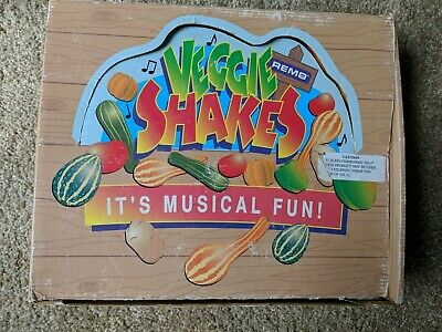 Veggie Shakes Remo 8 Hand Shakers in Box Music Percussion