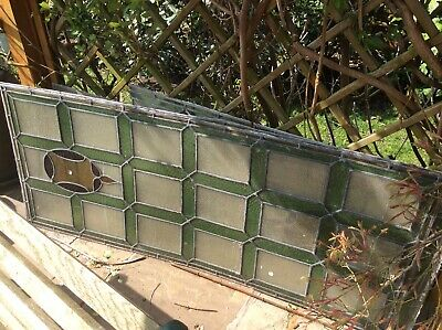 Leaded Stained Glass Panels Victorian/early 20th Century