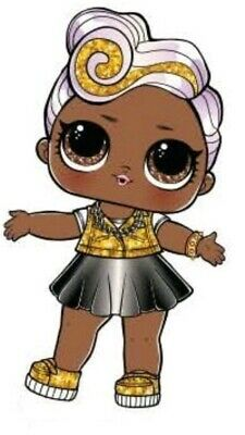 Glam Glitter DJ LOL lol Surprise Doll bottle checked only NEW