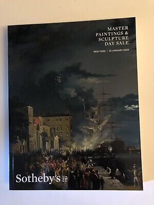 Sotheby Master Paintings & Sculpture Day Sale - New York - 31 January 2019