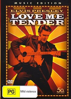 Elvis Presley-Love Me Tender (1956) DVD 50th Anniversary-Music Edition!!