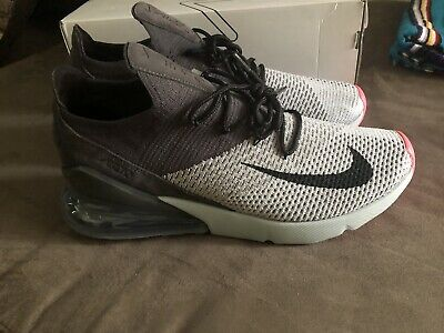 e5823a4262 Nike Air Max 270 Flyknit Mens Size 12 Atmosphere Grey/thunder Grey- NEW!