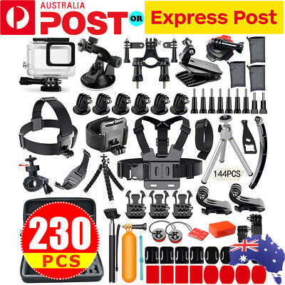 Gopro Accessories Pack Case Chest Head Floating Monopod F. GoPro Hero7 6 5 4 3 2