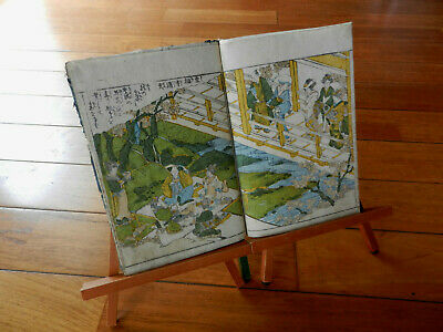Orig Japanese Woodblock Print Book Album of Classical BIJIN Bunka 10 (1813)