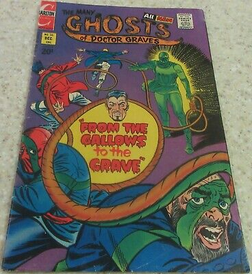 Many Ghosts of Doctor Graves 35 (FN- 5.5) 1972 Ditko story, cover! 30% off Guide