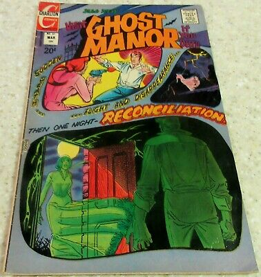 Ghost Manor 10 (FN/VF 7.0) 1973 Ditko story and cover! 30% off Guide!