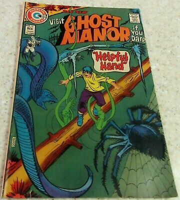 Ghost Manor 16 (VF- 7.5) 1973 Ditko story and cover! 30% off Guide!