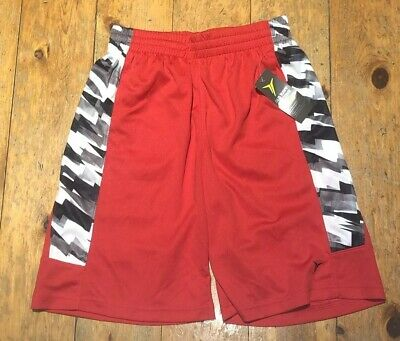 NWT OLD NAVY BOYS SHORTS  active athletic mesh red  Go Dry   you pick size