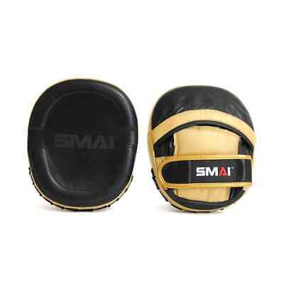 SMAI Mexican Micro Focus Mitts Pads Pair Gold and Black